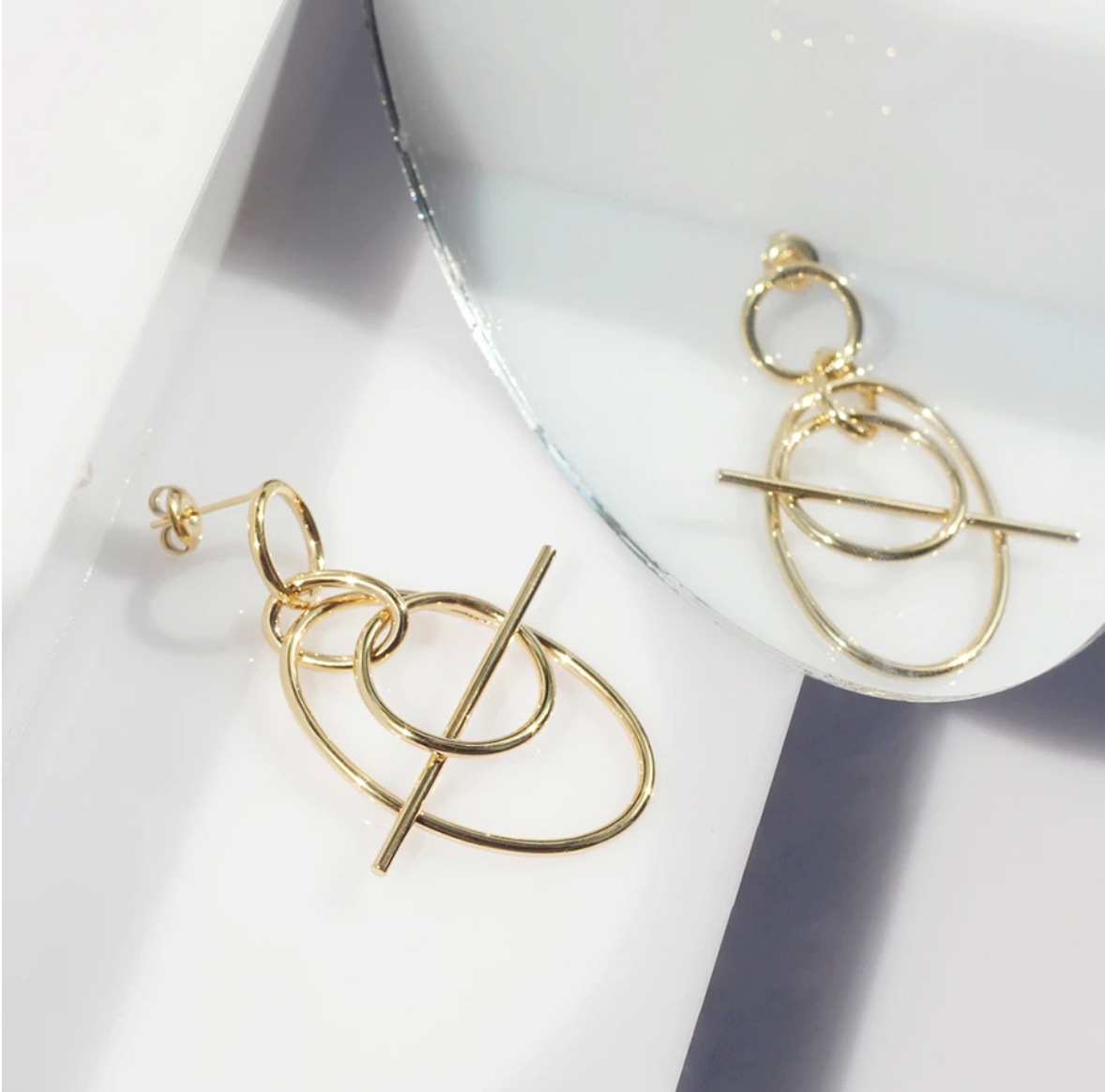 Infusion Gold Earrings - Wanderlust + Co