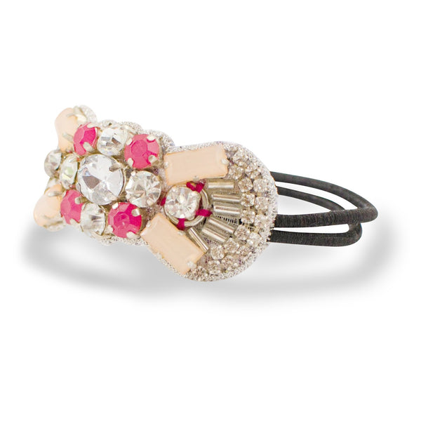 Deepa Gurnani Jeweled Pony Holder