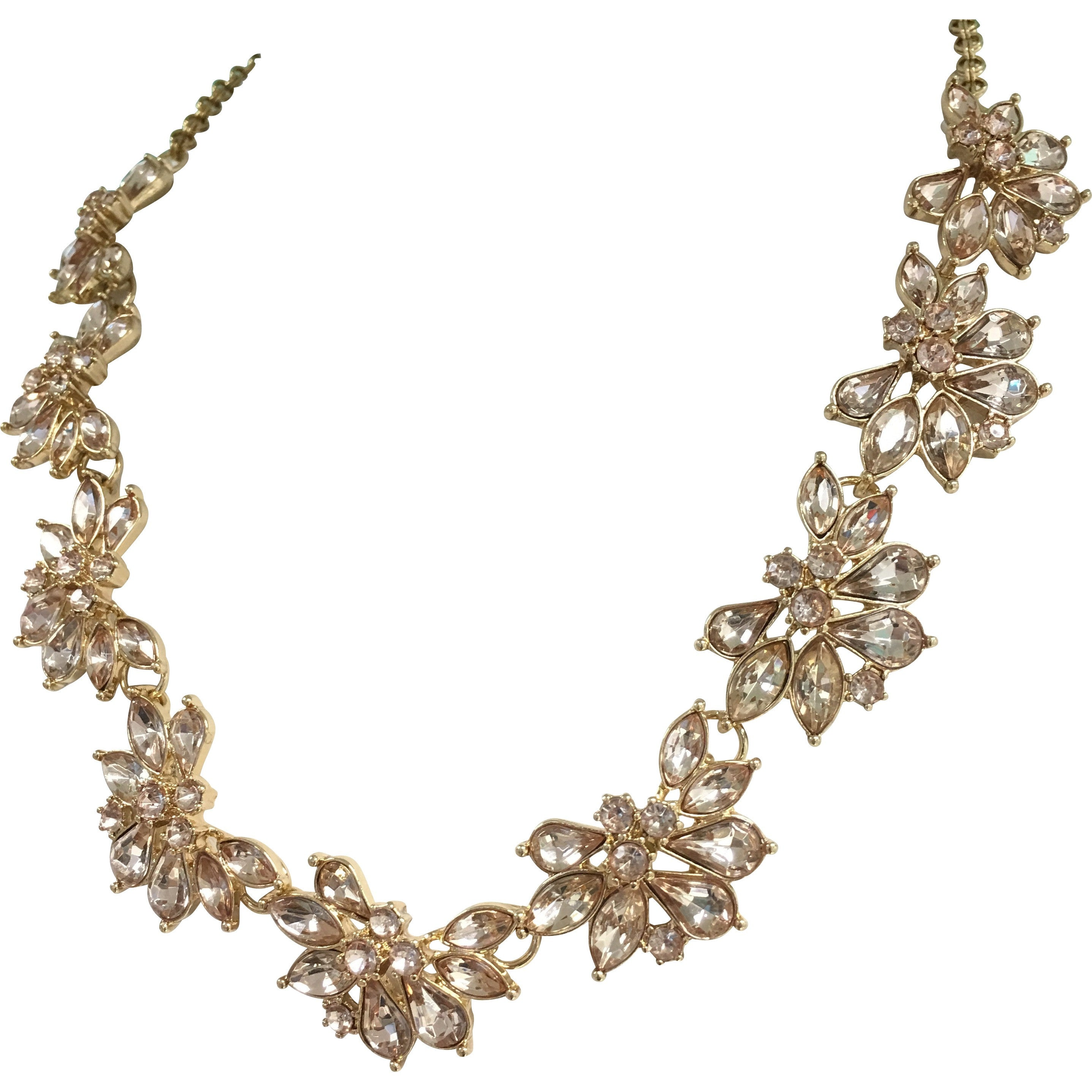 Champagne Collar Necklace