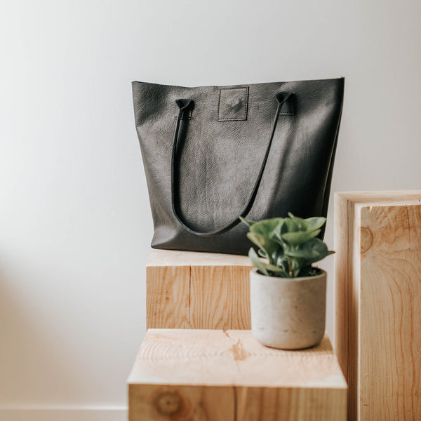 Carrington Tote Jet Black