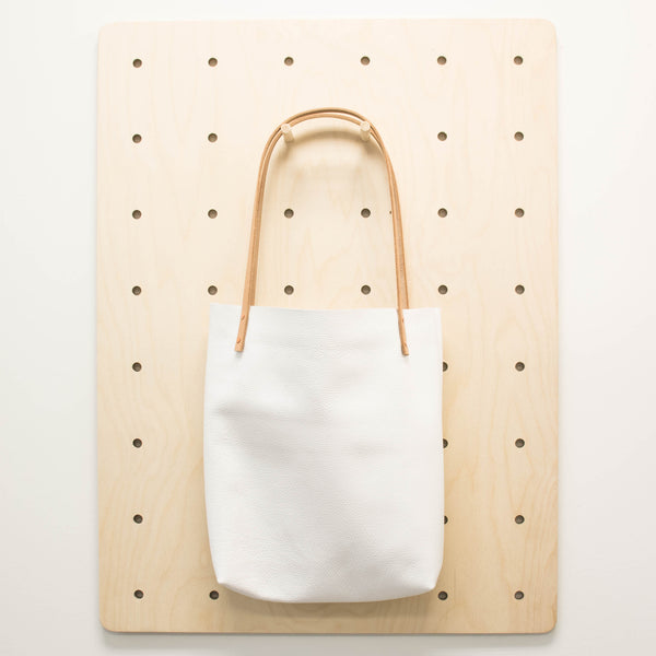 Book Bag White