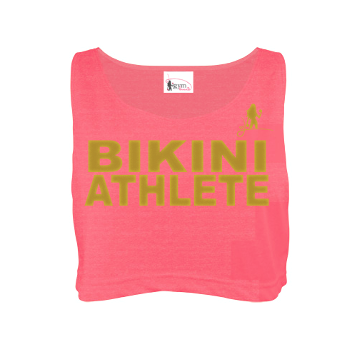 Bikini Athlete Neon Cropped Tank