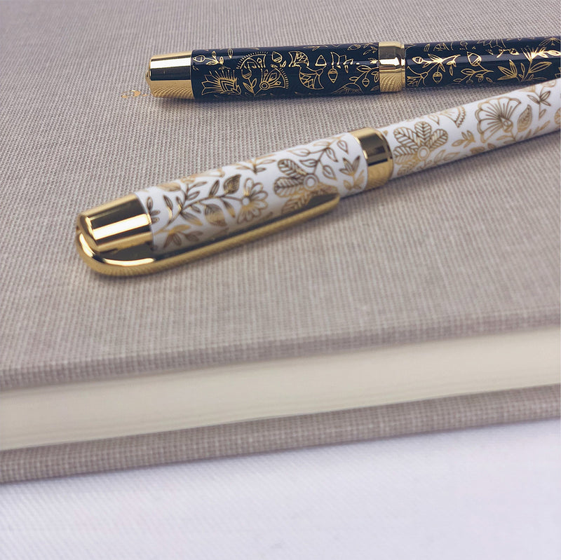 Gold guest book pen