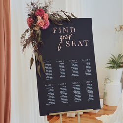 Victoria Seating Chart