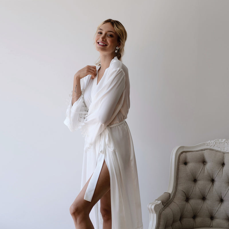 Bridal Party Robe in White