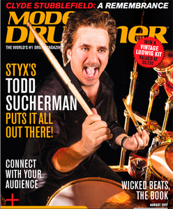 Check out KBrakes Review in Modern Drummer Magazine
