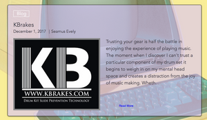The KBrakes Interview with Seamus at Drum Gab