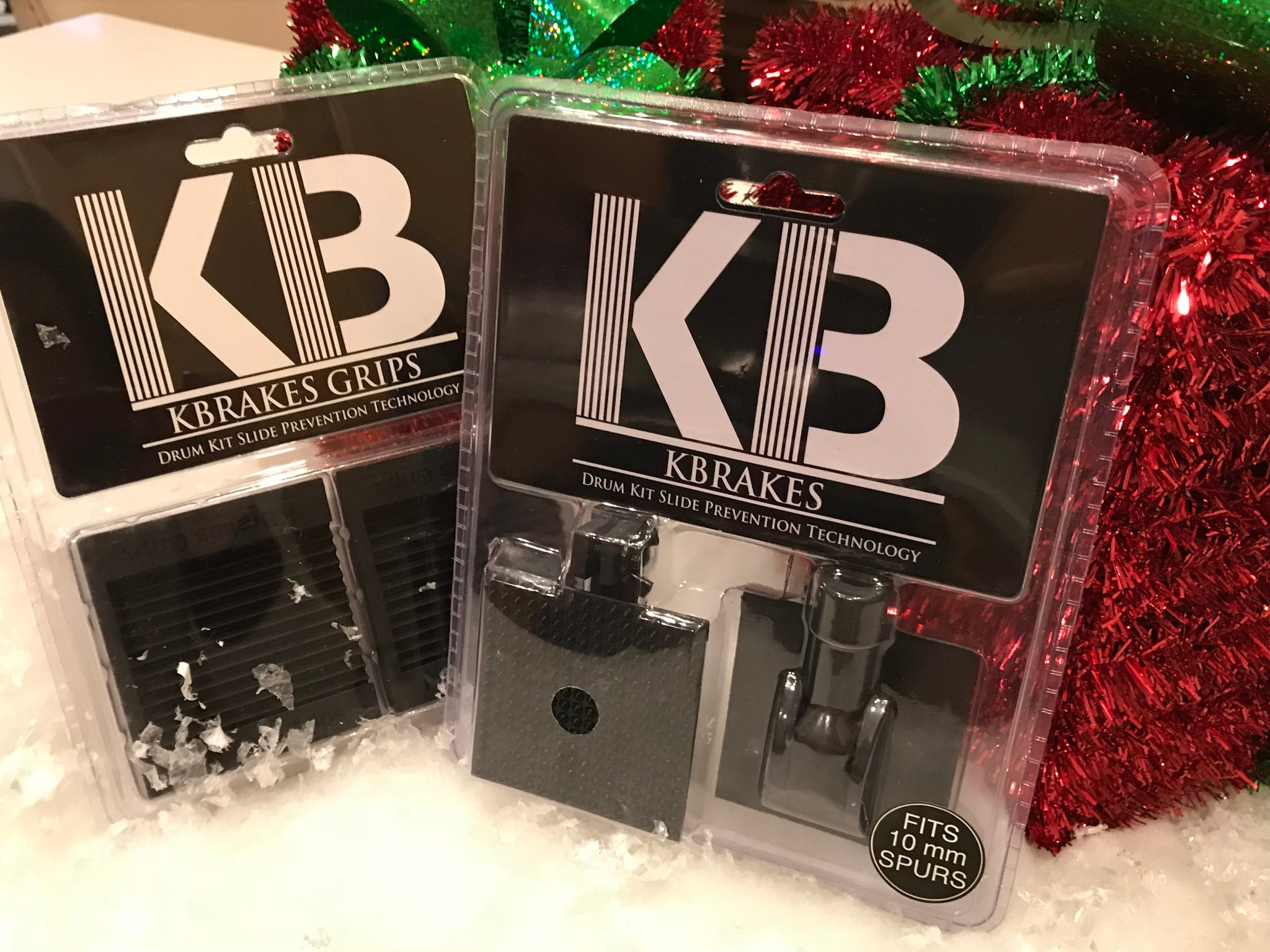The Santa Shredder Holiday Bundle (1 set of KBrakes 512, 1 Set of KBrakes Grips)