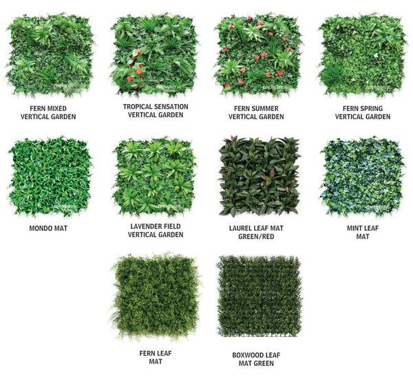 Evergreen Wall Panel Samples
