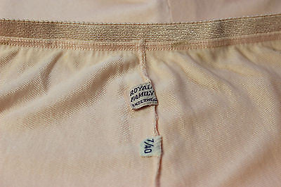 Vintage Women's Pink Underwear by Royal Family Size 7/40