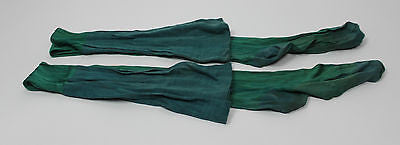 Antique Edwardian Women's Green Socks