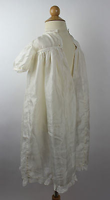 Antique Ivory Silk Child's Dress