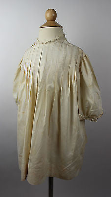Antique Ivory Cotton Child's Dress