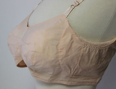 Vintage Women's Pink Kleinerts Bra Form with Underarm Shield