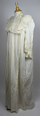 7 Piece Wedding Ensemble, Worn by Mrs. Claude A Dundores on February 23rd 1893