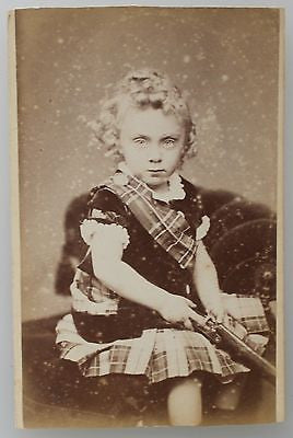 Original Carte de Visite CDV Antique Photograph from the Mid 19th Century