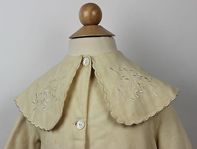 Antique Ivory Wool Child's Jacket