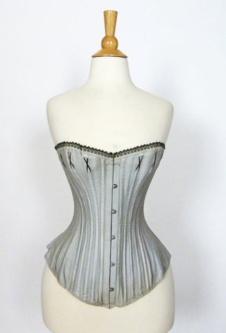 Blue Royal Worcester Corset from the Mid 19th Century