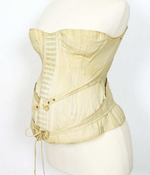Maternity Corset from the Mid to Late 19th Century