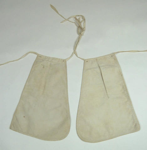 White Cotton Pockets from the Mid 19th Century