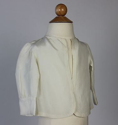 Wonderful Antique Cream Silk Child's Jacket