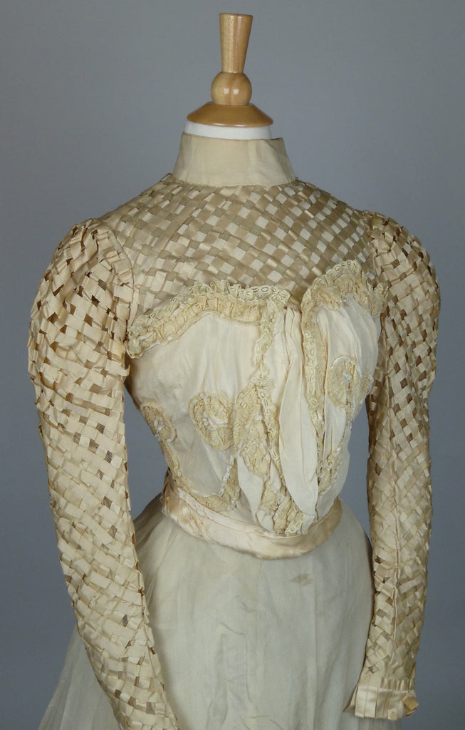 19th Century Wedding Gown