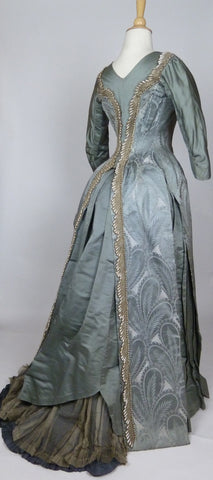 19th Century Emile Pasquier Gown