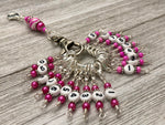 0 to 99 Pink Row Counter System - Number Stitch Markers