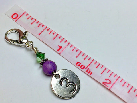 Numbered Clip On Stitch Marker Set , Stitch Markers - Jill's Beaded Knit Bits, Jill's Beaded Knit Bits  - 3