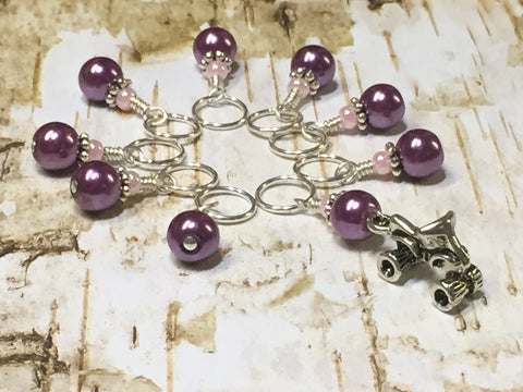 4 Wheeler Stitch Marker Set- Snag Free