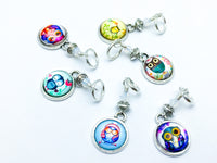 Owl Charm Stitch Markers- Gifts for Knitters