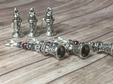 Lighthouse Stitch Markers- Snag Free 6 Piece Set , Stitch Markers - Jill's Beaded Knit Bits, Jill's Beaded Knit Bits  - 6