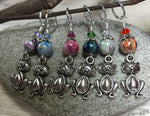Pot Belly Cat Stitch Markers , Stitch Markers - Jill's Beaded Knit Bits, Jill's Beaded Knit Bits  - 8