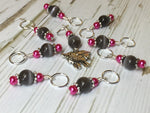 Little Black Sheep Stitch Marker Set- Gift for Knitters , Stitch Markers - Jill's Beaded Knit Bits, Jill's Beaded Knit Bits  - 4