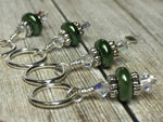 Football Stitch Marker Jewelry Set , Stitch Markers - Jill's Beaded Knit Bits, Jill's Beaded Knit Bits  - 4