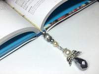 Angel Beaded Bookmark , Accessories - Jill's Beaded Knit Bits, Jill's Beaded Knit Bits  - 3
