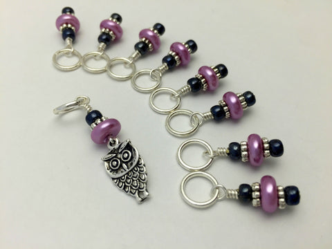 Baby Owl Stitch Marker Set