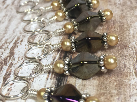 Beer Stitch Marker Set , Stitch Markers - Jill's Beaded Knit Bits, Jill's Beaded Knit Bits  - 7