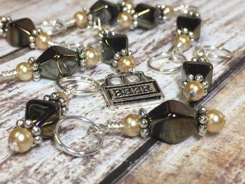 Beer Stitch Marker Set , Stitch Markers - Jill's Beaded Knit Bits, Jill's Beaded Knit Bits  - 4