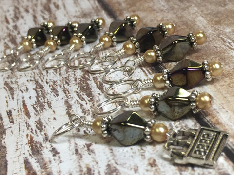 Beer Stitch Marker Set , Stitch Markers - Jill's Beaded Knit Bits, Jill's Beaded Knit Bits  - 3
