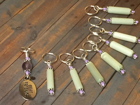 Best Friend Stitch Marker Set , Stitch Markers - Jill's Beaded Knit Bits, Jill's Beaded Knit Bits  - 7