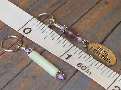 Best Friend Stitch Marker Set , Stitch Markers - Jill's Beaded Knit Bits, Jill's Beaded Knit Bits  - 9