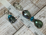 Crystal Knitting Stitch Markers with Holder , Stitch Markers - Jill's Beaded Knit Bits, Jill's Beaded Knit Bits  - 6