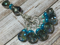 Crystal Knitting Stitch Markers with Holder , Stitch Markers - Jill's Beaded Knit Bits, Jill's Beaded Knit Bits  - 7