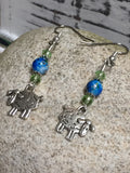 Sheep Dangle Earrings , Jewelry - Jill's Beaded Knit Bits, Jill's Beaded Knit Bits  - 7
