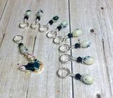 Boston Terrier Stitch Marker Set for Knitters , Stitch Markers - Jill's Beaded Knit Bits, Jill's Beaded Knit Bits  - 9