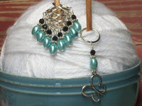 Open Butterfly Stitch Marker Set , Stitch Markers - Jill's Beaded Knit Bits, Jill's Beaded Knit Bits  - 1