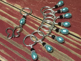 Open Butterfly Stitch Marker Set , Stitch Markers - Jill's Beaded Knit Bits, Jill's Beaded Knit Bits  - 5