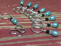Open Butterfly Stitch Marker Set , Stitch Markers - Jill's Beaded Knit Bits, Jill's Beaded Knit Bits  - 4