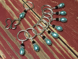 Open Butterfly Stitch Marker Set , Stitch Markers - Jill's Beaded Knit Bits, Jill's Beaded Knit Bits  - 6